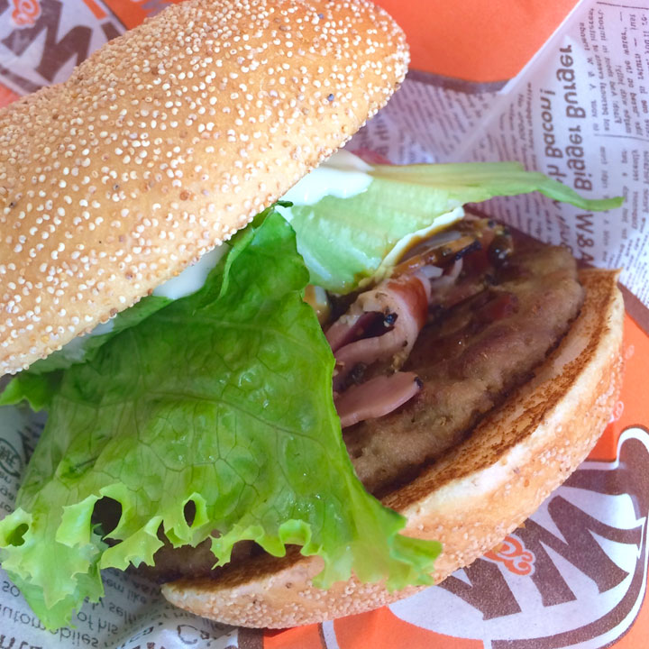 A&Wハンバーガー